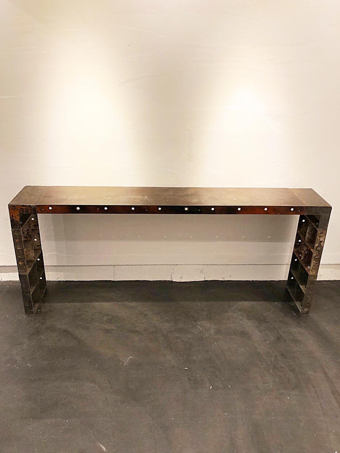 ディスプレイテーブル (大) × 2台 W1800 D300 H750
